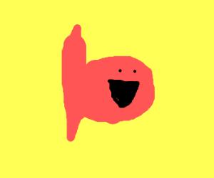 Very happy fish (Nice drawing!)