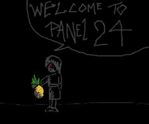 Panel 24 represents true evil