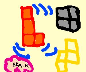 telepathic Tetris