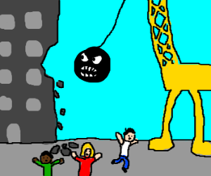 Wrecking Ball Monster Movie
