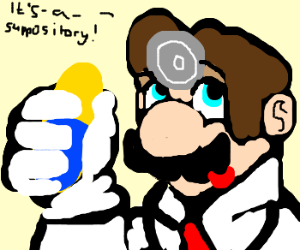 Dr. Mario does whatever you want to draw