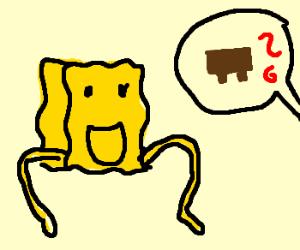 Spongebob being asked what he wears