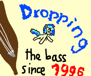Bass dropping the bass