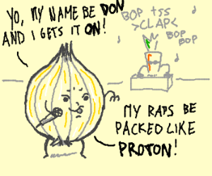 Don Onion - Vegetarian rapper