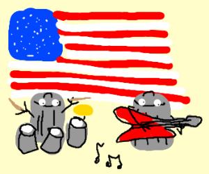American trash metal band