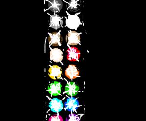 Every color illuminates