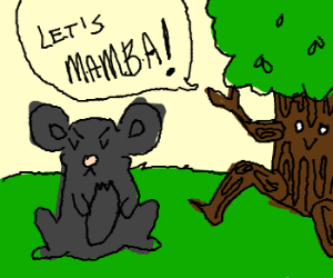 Mouse not in the mood for dancing tree