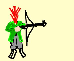 Headless archer