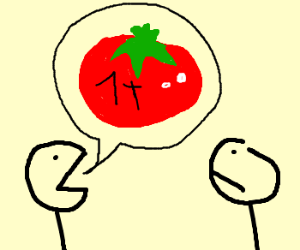 I wanna eat a 1 ton tomato