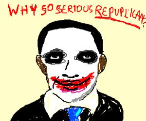 Batman works for Obama