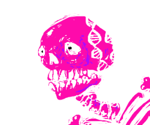DNA Skull Monster