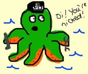 octopus police officer