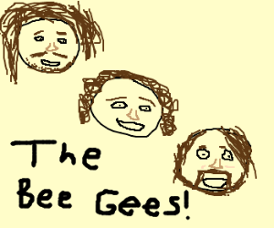 The Bee Gees Floating Heads