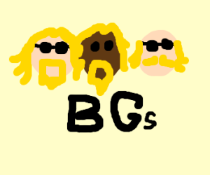The Bee Gees if they had a black guy