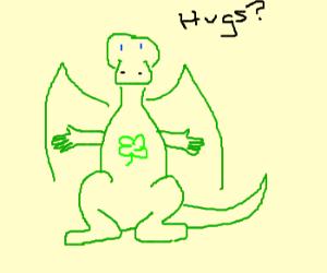Shamrock Care Dragon