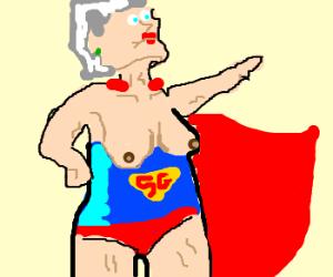 Superhero Granny