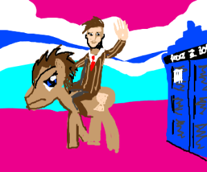 Dr. Whooves vs. The Doctor
