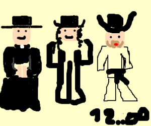 A priest, a rabbi and Chuck Norris...
