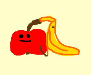 Fruit always sticks together