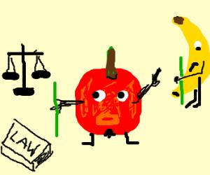 Apple sues banana for similar stalks