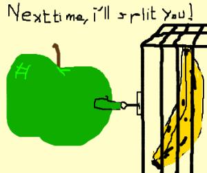 Apple teaches banana the law