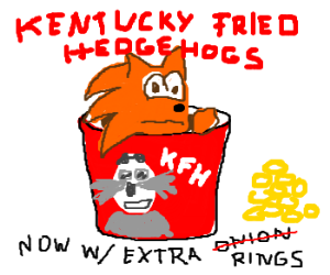 "Sonic is ""Finger Lickin' Good!"""