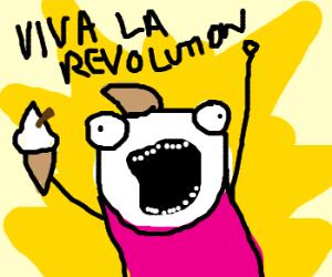 THE ICECREAM REVOLUTION HAS BEGUN!!!!