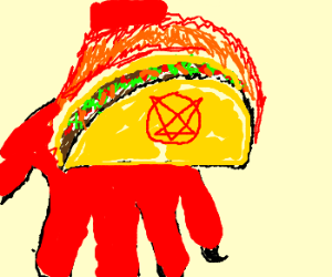 Satan made me a taco