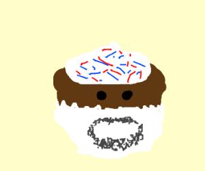 Bearded Cupcake!