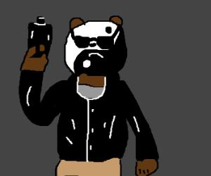 Yin-yang terminator bear