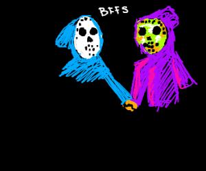 Corvax and Jason: BFFs