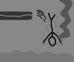 Diver hit by lightning