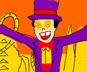 Welcome to Superjail! I'm the Warden!