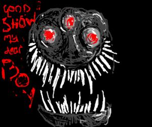 "3-Eyed Alien: ""Good show my dear boy!"""