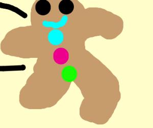 gingerbread running away,so long suckers