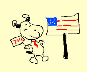 Snoopy for Republican candidate in 2016