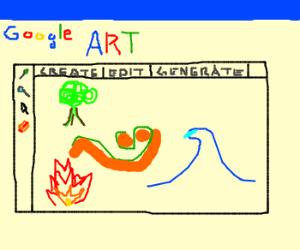 Google create art generator