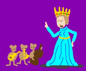 Princess demands entertainment
