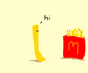 Talking French fry