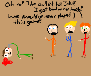 Johnny plays Russian roulette