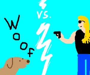 Bounty Hunters: Dog Vs Literal Dog.