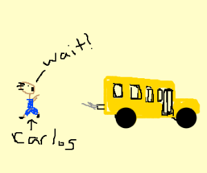 bus driver forgets carlos