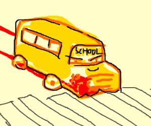 F*** you im a bus!