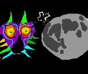 Majora's Mask and the Moon