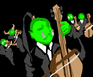 ♪ Orcish orchestra ♪