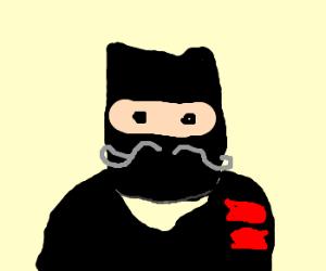 ninja with a mustache...