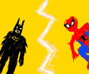 batman vs spiderman: deathmatch!!