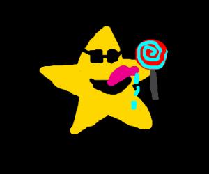 Star w/lollipop