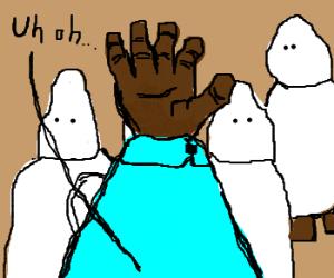 Blackman accidentallywalks into KKK meet