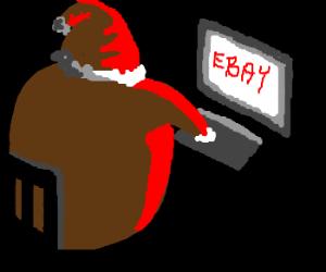 Did you know, Santa shops on ebay?